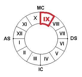 Дом гороскопа 9